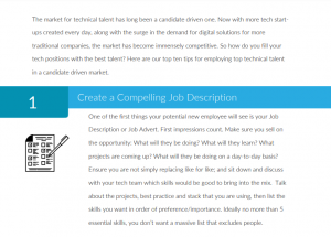 Top Ten Tips for Hiring Talent in a Candidate Market